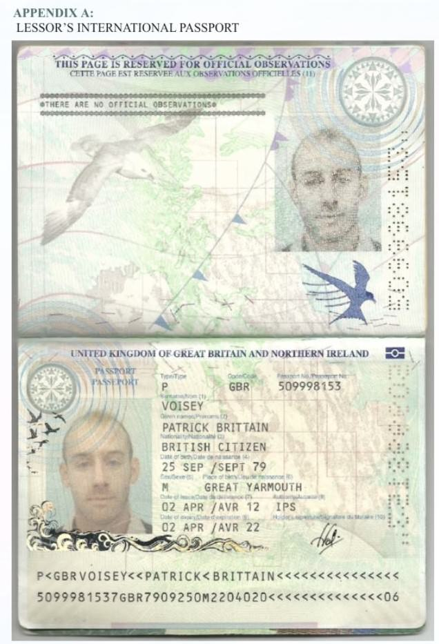 Patricks Passport