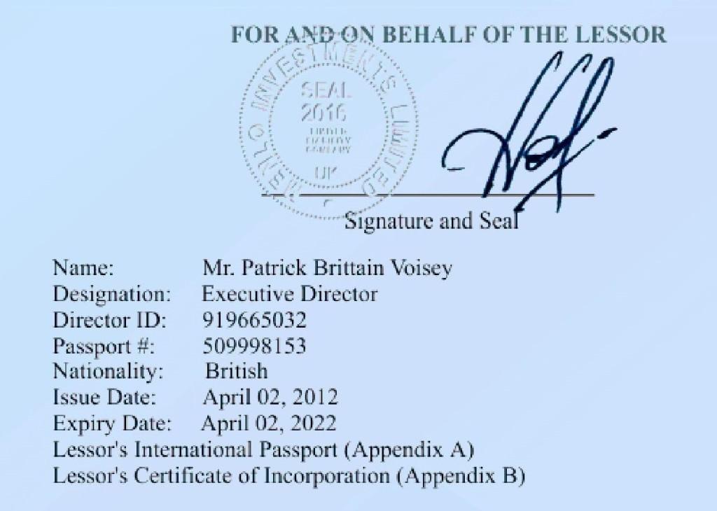 Patricks Signature