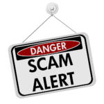 Secure Platform Funding Scam Warning