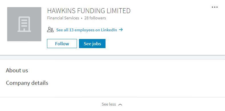 Hawkins Funding - Linkedin