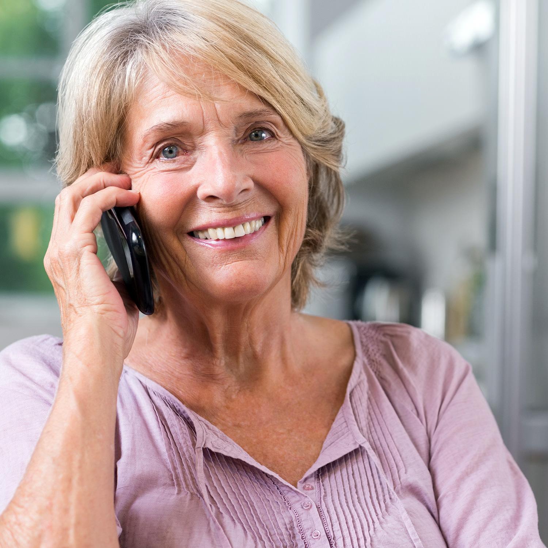 Secure Platform Funding - Lady Phone