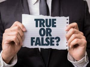 Secure Platform Funding - True or False