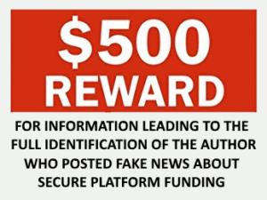 500 reward