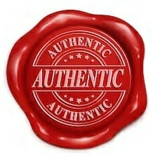 authentic seal