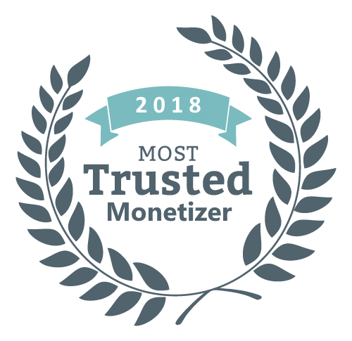 most trusted monetizer 2018